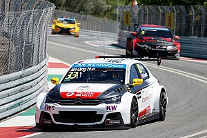 WTCC Race report Ma Qing Hua wins crash-strewn race two in Portugal