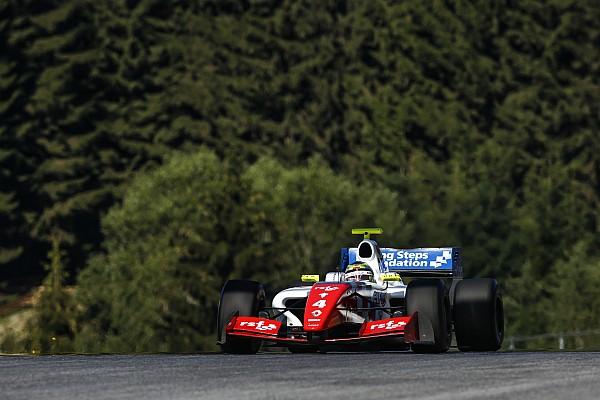Rowland e Vaxiviere vencem em rodada dupla marcada por forte acidente