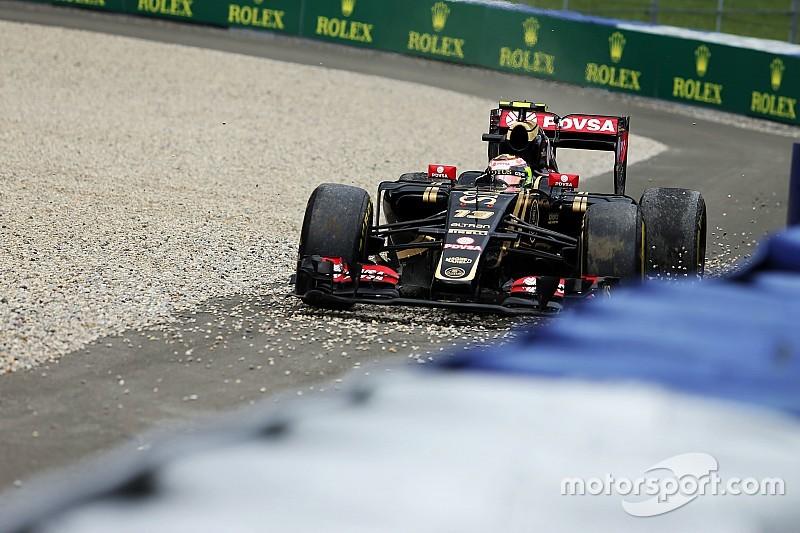Ricciardo souhaite le retour des bacs à gravier