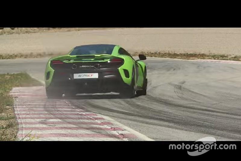 Vidéo - La McLaren 675LT pour la première fois en piste!