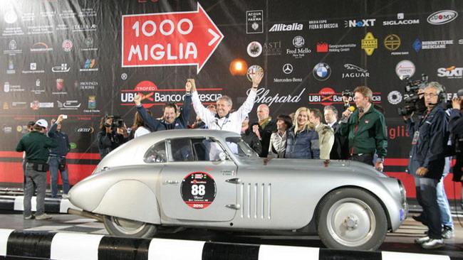 Canè, un premio per le 10 vittorie alla Mille Miglia