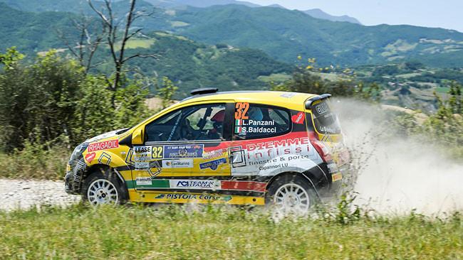 Luca Panzani vince il titolo nel Rally di San Marino