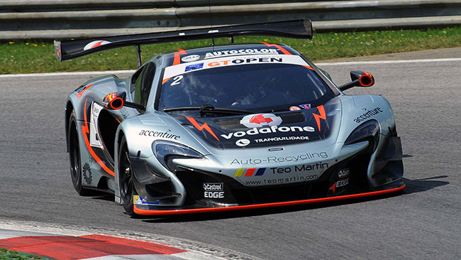Miguel Ramos porta la McLaren in pole a Zeltweg