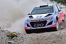 Sardegna, PS16: Neuville dà spettacolo sulla Hyundai