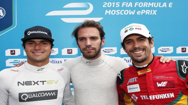 A Mosca terza pole position per Jean-Éric Vergne