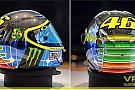 Ecco il casco speciale di Valentino Rossi per il Mugello