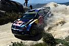 Latvala guida la tripletta Volkswagen in Portogallo