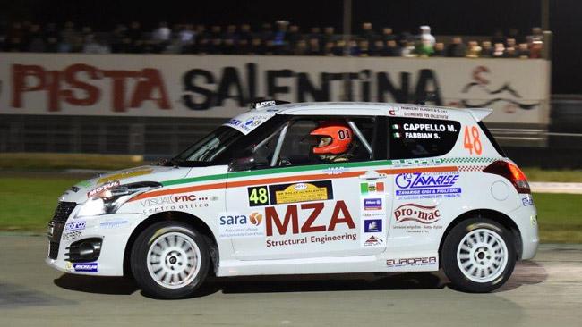 Suzuki Rally Cup: Cappello si impone in Salento
