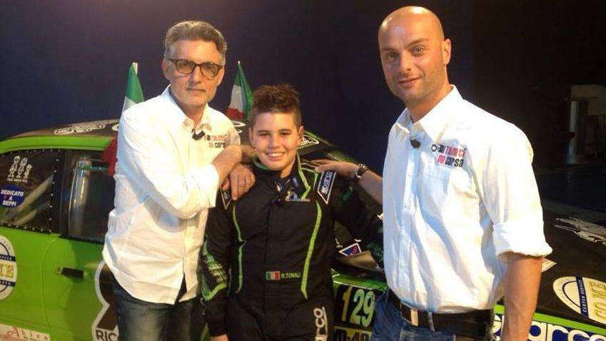 Riccardo Tonali: ha 12 anni il baby drifter d'Europa!