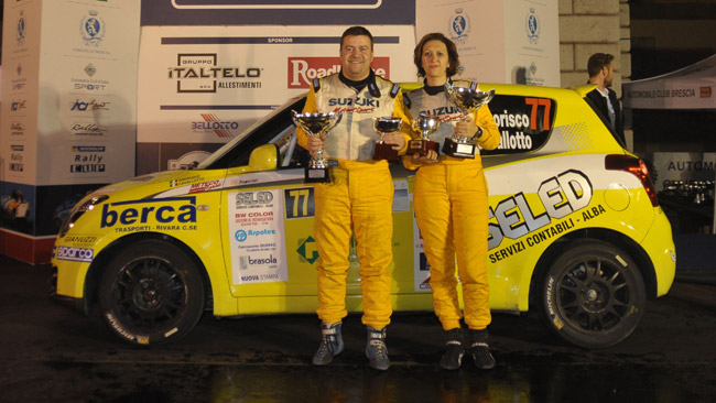 Suzuki Rally Cup: Amorisco si impone al 1000 Miglia