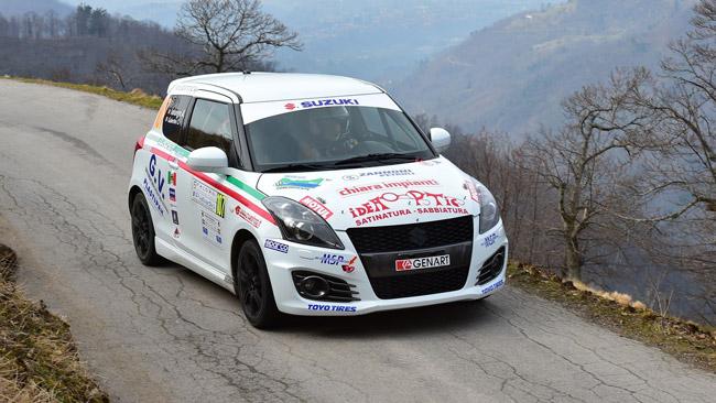Suzuki Rally Trophy: al Ciocco si impone Gubertini