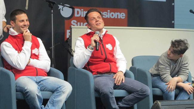 Michel Fabrizio presenta la MF84 a Motodays