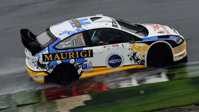 Luca Rossetti si impone al Rally Franciacorta Circuit