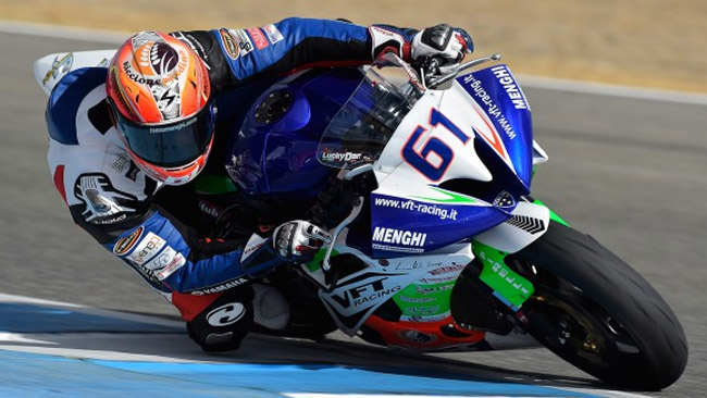 Il VFT Racing schiera Fabio Menghi in Supersport
