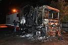 Un incendio distrugge il camion Honda in Sardegna