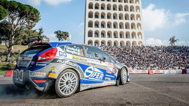 Rally RomaCapitale finale del Trofeo Rally Nazionali