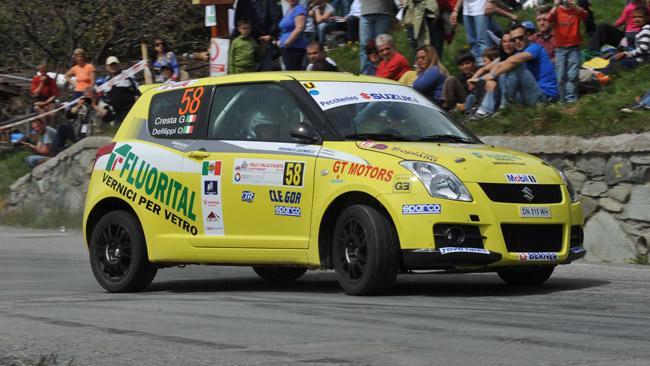 Defilippi conquista la prima della Suzuki Rally Cup