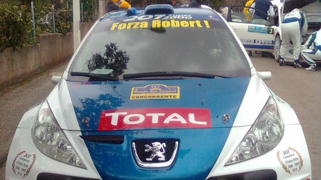 Andreucci dedica la prima vittoria del 2011 a Kubica