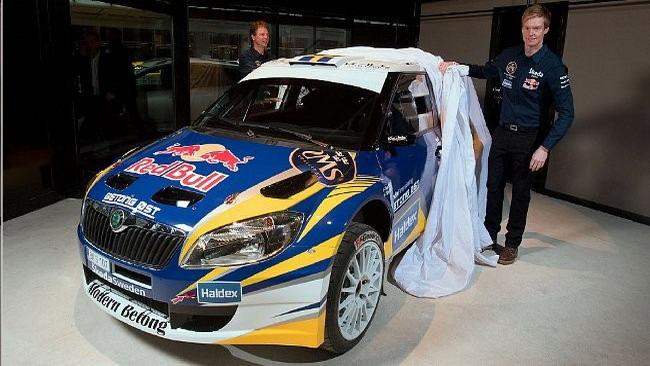Patrick Sandell farà sette gare con la Fabia S2000