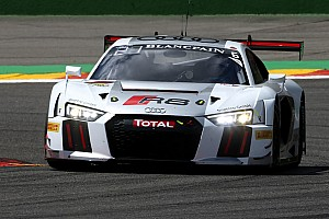 Blancpain Endurance Qualifying report Stippler secures Spa 24 Hours pole for Audi