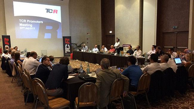 Incontro del TCR Working Group  per definire il futuro