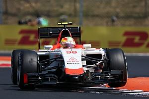 Fórmula 1 Entrevista Merhi asegura que hay avances en su bólido