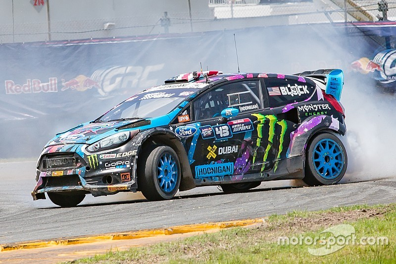 Ken Block triumphs again in first race at Belle Isle