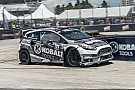 Patrik Sandell wins second leg of Red Bull Global Rallycross Detroit doubleheader