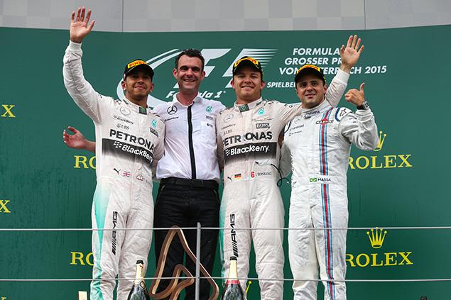 نتائج دوري التوقعّات: سباق النمسا