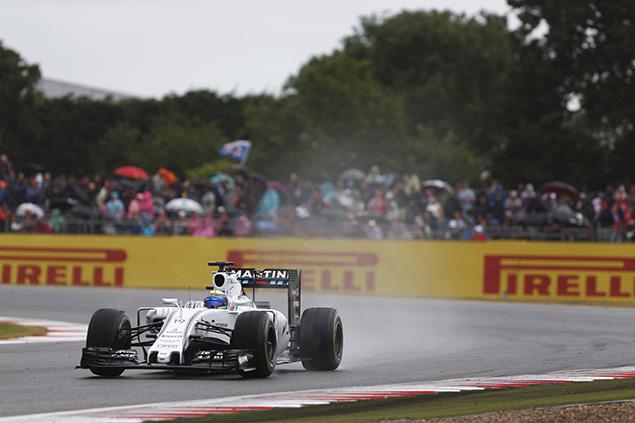 ويليامز: خسرنا وتيرنا في سباق بريطانيا مع هطول الأمطار