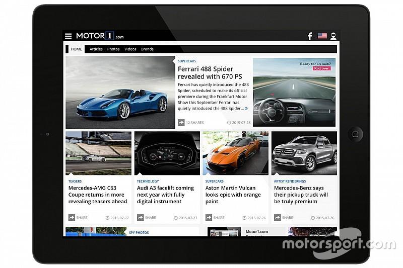 Motorsport.com aggiunge un portale verticale sul mondo delle auto al suo portfolio globale