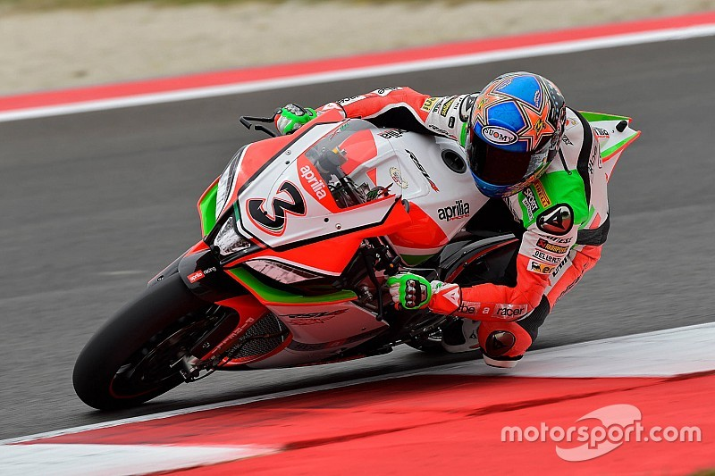 Biaggi remains quickest following afternoon downpour at Sepang