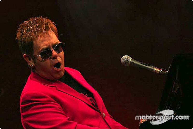 Elton John and his band to perform post-race concert at 2015 United States GP