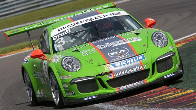 Dinamic Motorsport a 3 punte nella Supercup a Monza