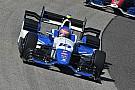Pippa Mann a Pocono con il team Dale Coyne Racing
