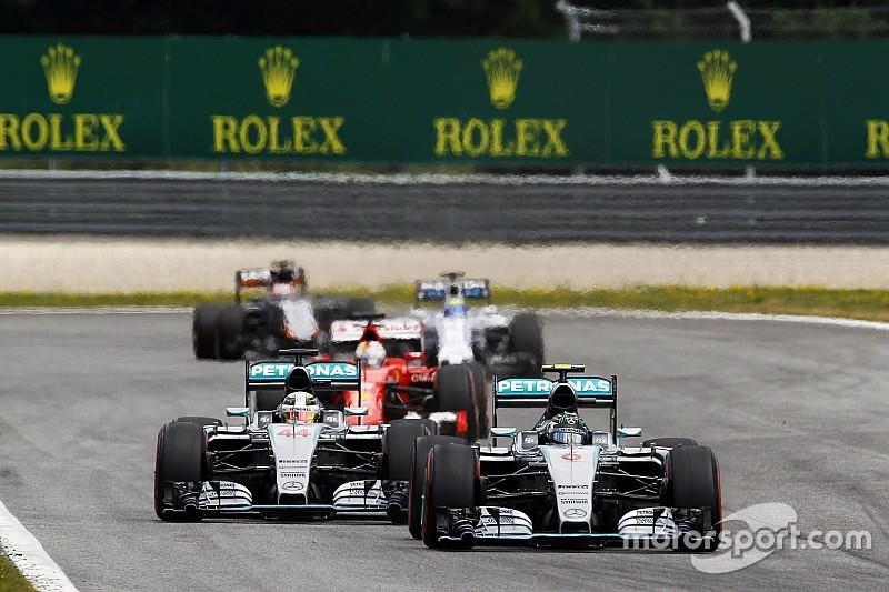 Départs sans aide - Une complexité qui offre une chance de plus à Rosberg
