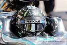 Rosberg lidera sobre Hamilton en la 1° práctica