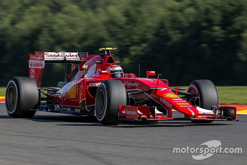 Räikkönen confirme la présence de cloques sur ses pneus
