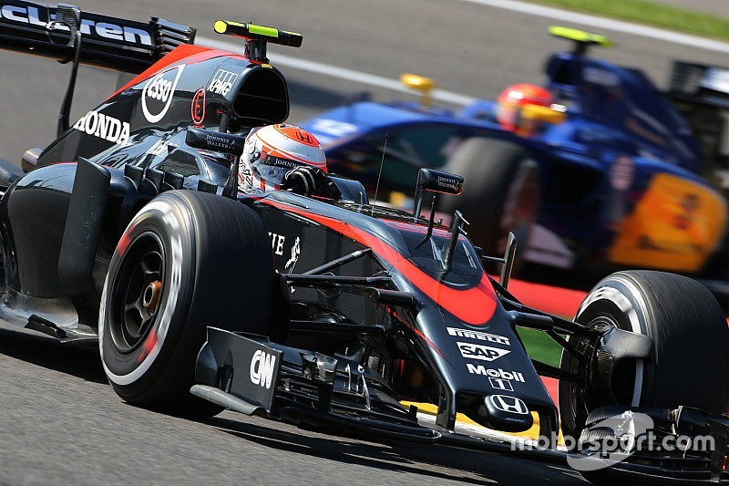 McLaren handed 105-place grid penalty