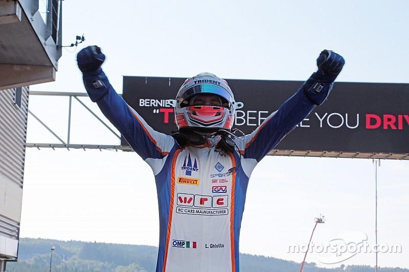 Ghiotto sempre più leader dopo la vittoria a Spa