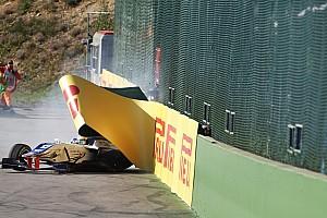 GP3 Últimas notícias Piloto da GP3 critica organização após ser atingido por pneu