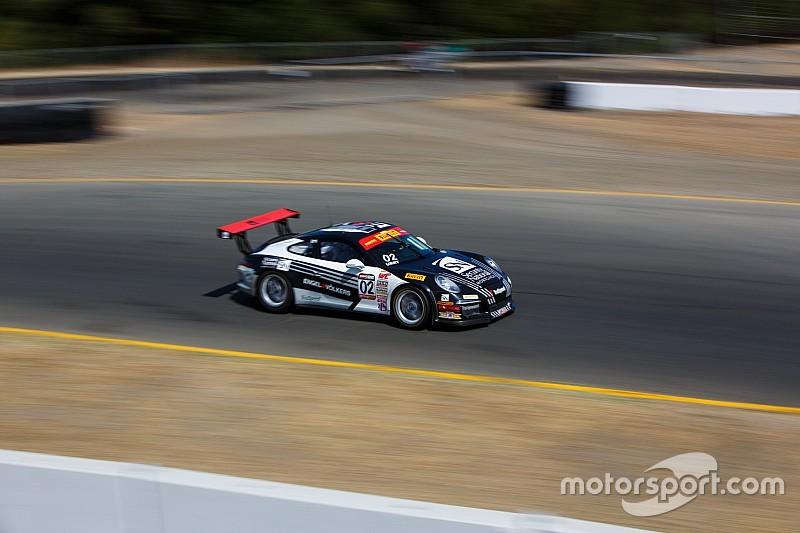 Alberto Cerqui nella Porsche Supercup a Monza