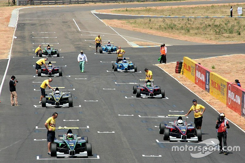 All set for round two of JK Tyre championship