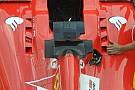 Ferrari: sfoghi d'aria differenziati ai lati dell'abitacolo