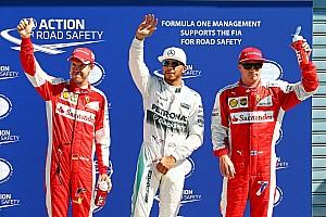 Формула 1 Отчет о квалификации Хэмилтон на поуле в Монце