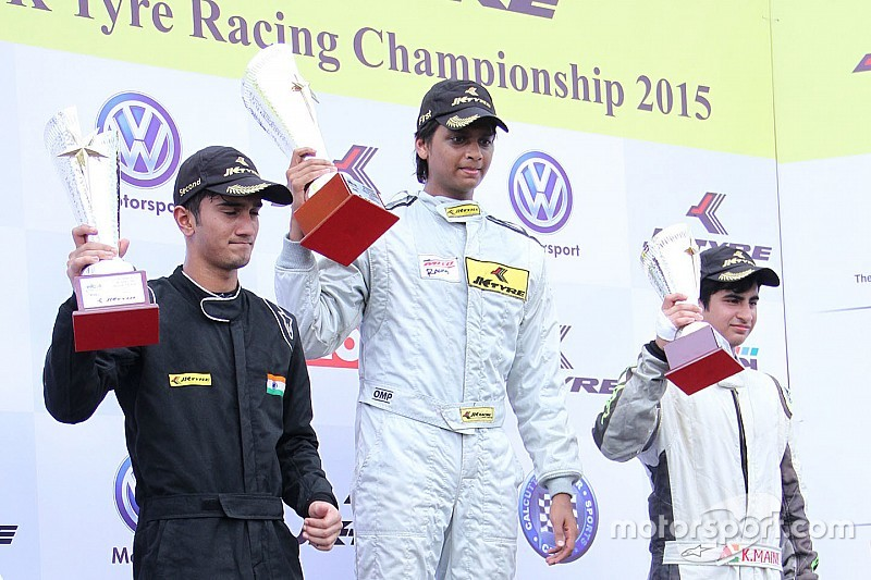 Prasad wins race one of JK Tyre weekend