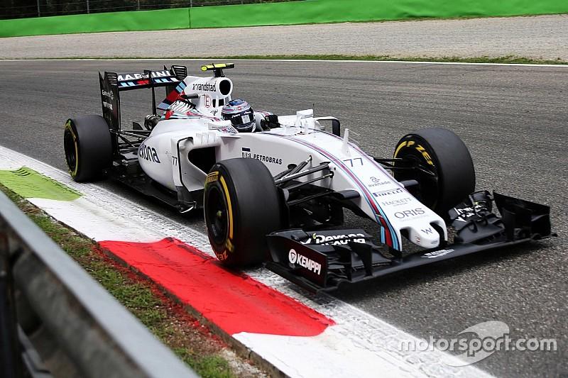 Massa qualified fifth and Bottas sixth for tomorrow's Italian GP