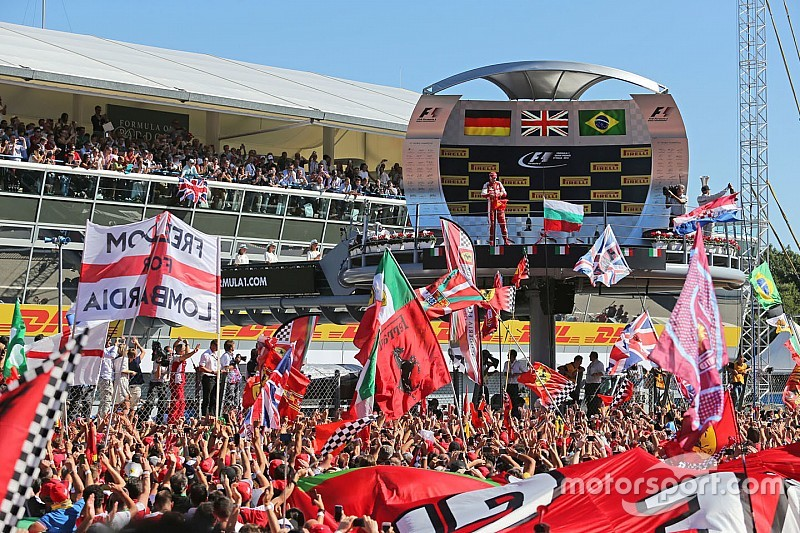 """Vettel dice que el segundo lugar en Monza es """"hermoso"""""""