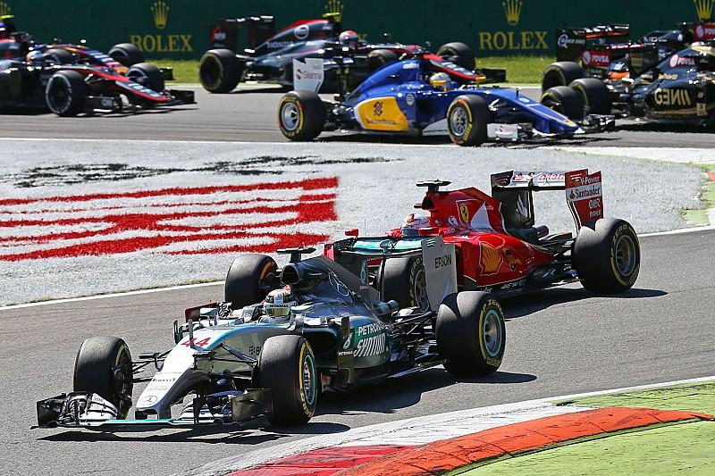 Hamilton keeps Italian Grand Prix victory