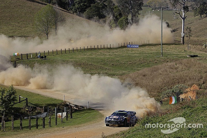 Latvala leads the way at Rally Australia